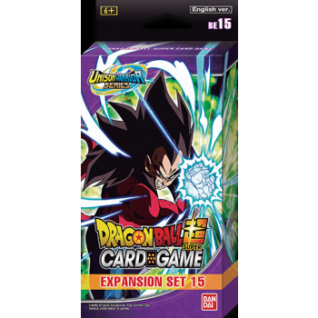 Dragon Ball Super Card Game - Expansion Set BE15 - Battle Enhanced