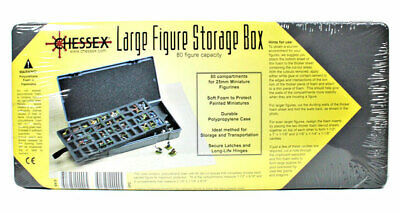 Chessex Large Figure Storage Box (80 Figure Capacity)
