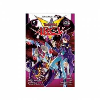 Shonen Jump Manga: Yu-Gi-Oh! Arc-V Volume 5 (NO Card)