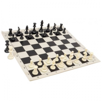 "CNChess Quality Solid Tournament Chess Set (34 weighted pieces 3 3/4"" King)"