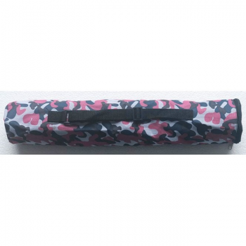 Quiver Style Chess storage canvas bag with strap - Camo Pink