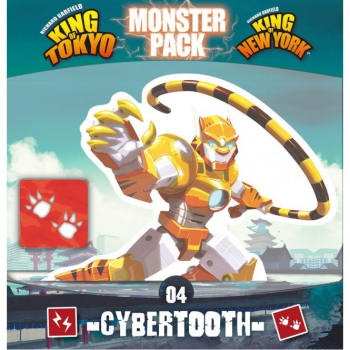 King of Tokyo/New York - Cybertooth Monster Pack