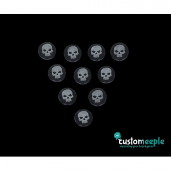 Customeeple Magical Power Token Skull (10 Pieces)