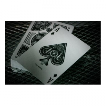 The United States Playing Card Company Silver Steampunk