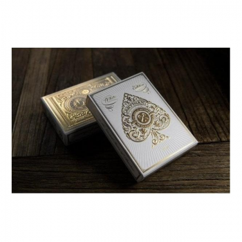 Theory 11 Playing Cards : Artisans White