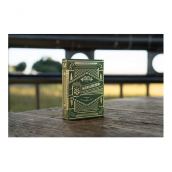 Theory 11 Playing Cards : Monarchs Green