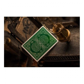 Theory 11 Playing Cards : National Green