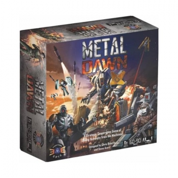 Metal Dawn: Kickstarter Tech-War Deluxe Edition