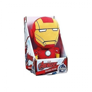 Marvel Deluxe Talking Plush (23 cm) : Iron Man