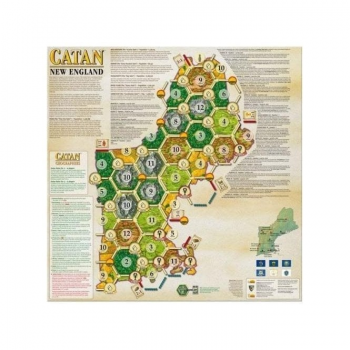 Catan Geographies : New England
