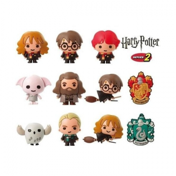Harry Potter - 3D Collectable Keychain Series 2 Mystery Booster Pack