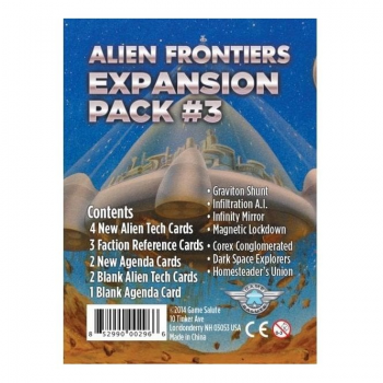 Alien Frontiers : Expansion Pack #3