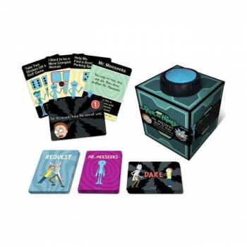 Mr Meeseeks' Box of Fun : Rick and Morty Dice and Dares Game