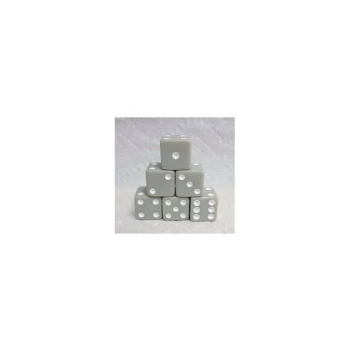 Koplow Games Pastel D6 Dice Set : Grey