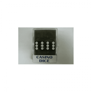 Koplow Casino Dice Set of 2 : Black