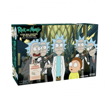 Rick and Morty: Close Rick Counters of the Rick Kind Deck Building Game
