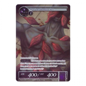 Force of Will TCG - Promo Card : PR2014-07 Rotting Bloodsucker