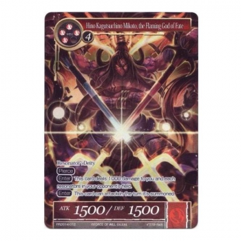 Force of Will TCG - Promo Card : PR2014-012 Hino Kagutsuchino the Flaming God of Fate