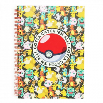 Blueprint Collections Pokemon A5 Notebook