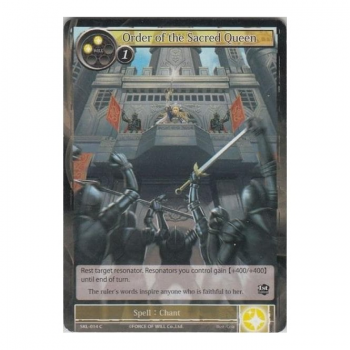 Order of Sacred Queen (FOIL) : SKL-014F - Force of Will Single Card