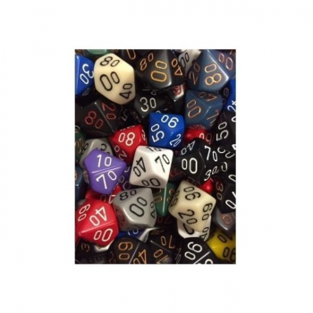 Dice Opaque 10% - Random Colour