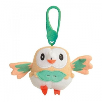 Pokemon Toy - Clip-On Plush : Rowlet