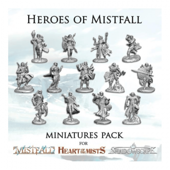 Mistfall : Heart of the Mist Miniatures Pack