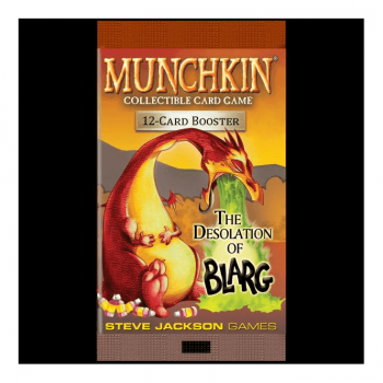 Munchkin CCG : The Desolation of Blarg Booster Pack (12 cards)