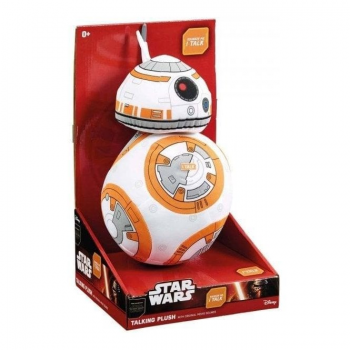 Star Wars Deluxe Talking Plush (23 cm) : BB-8
